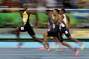 Fotoreportage bolt olimpiadi