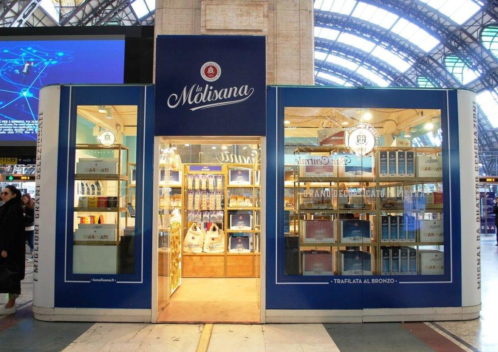 LaMolisana-temporary store a termini