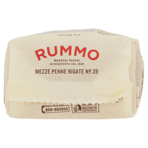 Rummo sotto - analisi del pack
