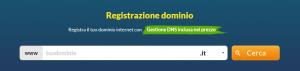 registrazione dominio internet