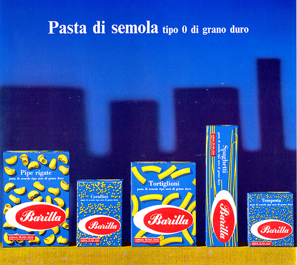 Barilla – pasta di semola grano duro