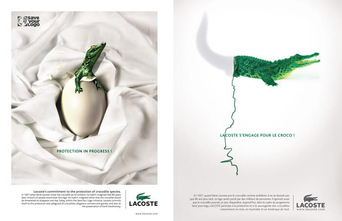Lacoste Save-Your-Logo