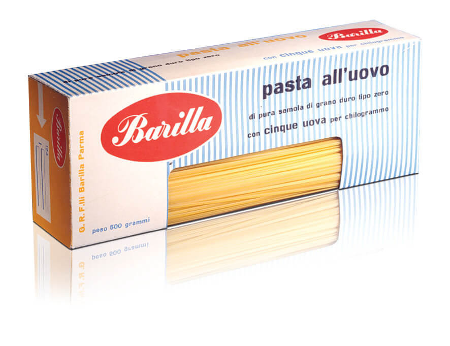 barilla – pasta all'uovo