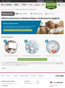 Altroconsumo: Le migliori offerte internet e telefono fisso